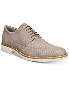 Ecco Men's Biarritz Derby Perforated Tie Oxfords