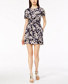 French Connection Floral-Print Sheath Dress