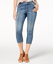 Style & Co Front-Seam Capri Jeans, Created for Macy's