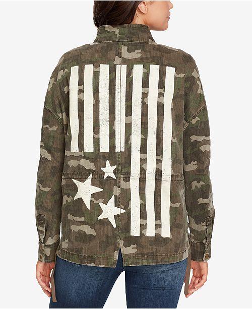 2b6f990acfe8b WILLIAM RAST Embellished Camo-Print Jacket & Reviews - Jackets ...