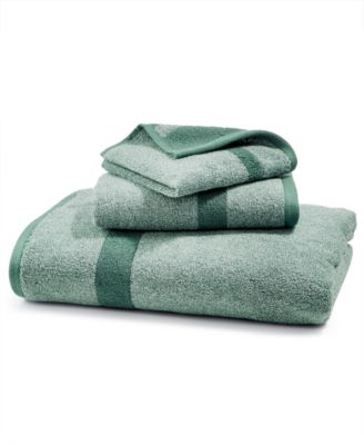 LAST ACT! Mingle Cotton Reversible Yarn-Dyed Fashion Hand Towel