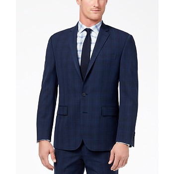 Ryan Seacrest Distinction Men's Ultimate Modern-Fit Stretch Suit Jackets