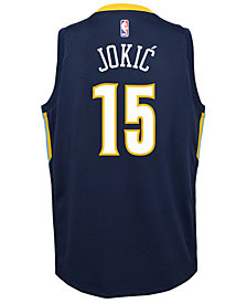 Nike Nikola Jokic Denver Nuggets City Edition Swingman Jersey, Big Boys (8-20)