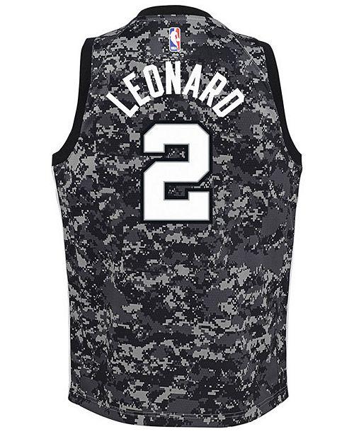 7303146a3ec Nike Kawhi Leonard San Antonio Spurs City Edition Swingman Jersey ...