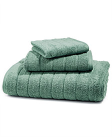 LAST ACT! Juliette LaBlanc Cotton Zero Twist Ribbed Solid Washcloth