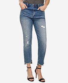Lucky Brand Step-Hem Boyfriend Jeans