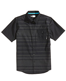 LRG Men's Ontour Stripe Pocket Shirt