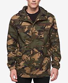Levi's® Men's Camo-Print Hooded Parka