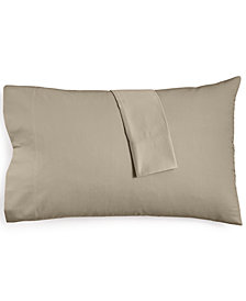 Hotel Collection Supima Cotton 825-Thread Count Standard Pillowcase Pair, Created for Macy's