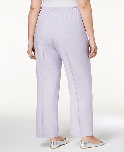 885e65e4487 Alfred Dunner Plus Size Roman Holiday Pull-On Pants   Reviews ...
