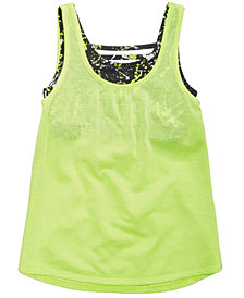 Ideology Layered-Look Tank, Big Girls, Created for Macy's