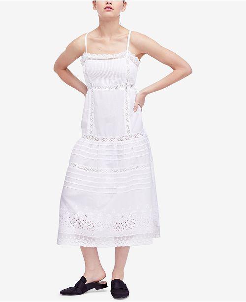 4f1d0ba9809 Free People This Is It Cotton Slip Dress   Reviews - Dresses - Women ...