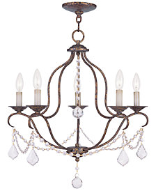 "Livex Chesterfield 24"" Chandelier"
