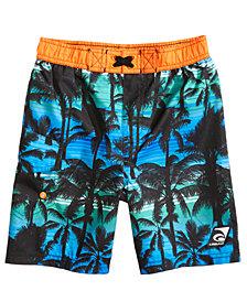 Laguna California Palms-Print Swim Trunks, Toddler Boys & Little Boys
