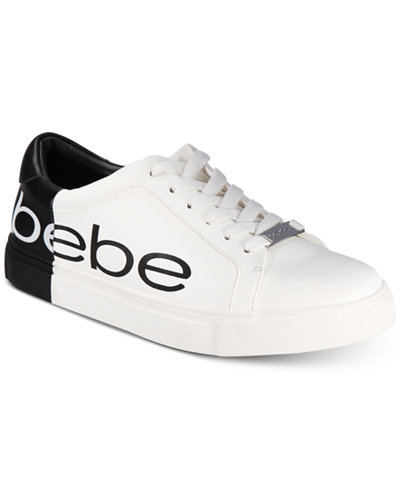 Bebe Sport Charley Lace-Up Sneakers