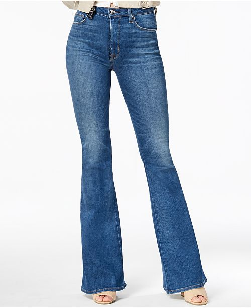 03d61f8e63c Hudson Jeans Holly High Rise Flare Jeans & Reviews - Jeans - Juniors ...