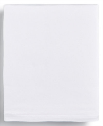 Calvin Klein Modern Cotton Harrison White Twin Flat Sheet