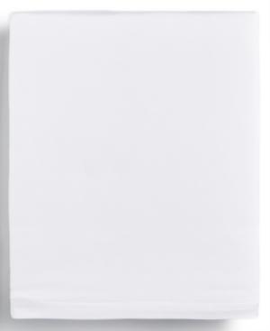 Calvin Klein Modern Cotton Harrison White King Flat Sheet Bedding