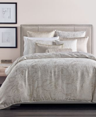 CLOSEOUT! Marble Full/Queen Duvet Cover, Created for Macy's