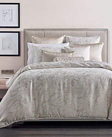 CLOSEOUT! Hotel Collection Marble Full/Queen Duvet Cover, Created for Macy's