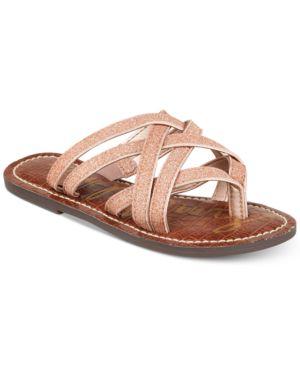 Sam Edelman Georgette Glitter Sandals, Little Girls & Big Girls 6019062