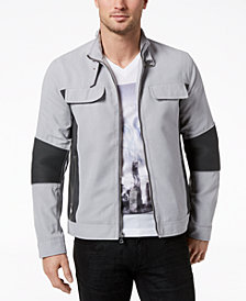 I.N.C. Men's Asher Faux-Suede Jacket, Created for Macy's