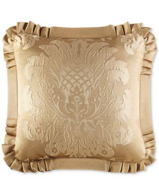 """Concord Gold 20"""" Square Decorative Pillow"""