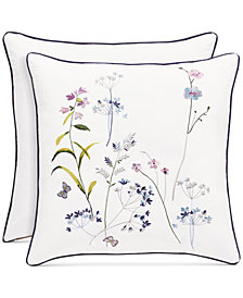 "Piper & Wright Betsy White 20"" Square Decorative Pillow"
