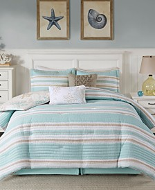 Harbor House Ocean Reef 5-Pc. King Duvet Cover Set