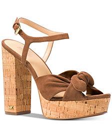 MICHAEL Michael Kors Pippa Platform Dress Sandals