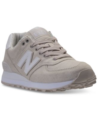New Balance Women's 574 Beach Chambray Sneaker