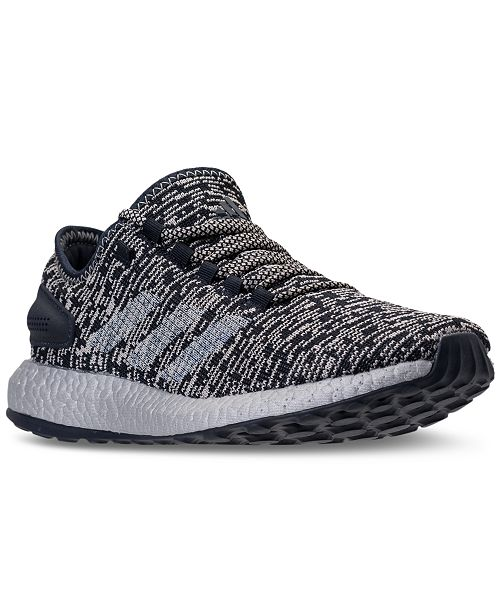 adidas Men s PureBOOST CB Running Sneakers from Finish Line - Finish ... fd8a930564de