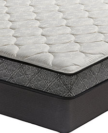 "MacyBed Classic 7.5"" Plush Mattress Set - Queen, Created for Macy's"