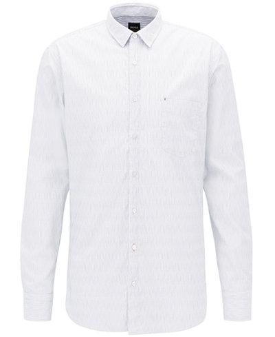 BOSS Men's Slim-Fit Cotton Sport Shirt