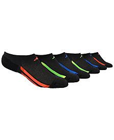 adidas 6-Pk. No-Show Socks, Little Boys & Big Boys