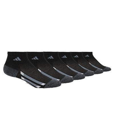 adidas 6-Pk. Quarter Socks, Little Boys & Big Boys