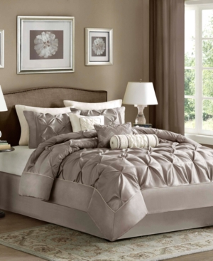 Madison Park Laurel 7-Pc. Queen Comforter Set Bedding