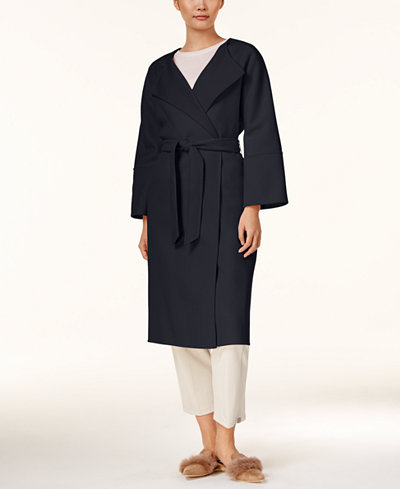 Weekend Max Mara Lari Reversible Belted Overcoat