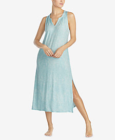 Lauren Ralph Lauren Printed Sleeveless Nightgown