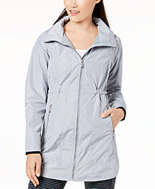 Calvin Klein Performance Long-Line Hooded Jacket