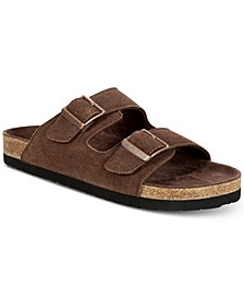 Men's Fin Suede Slip-On Sandals