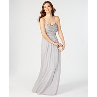 Deals on Adrianna Papell Beaded Chiffon Gown