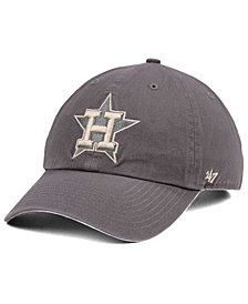'47 Brand Houston Astros Dark Gray CLEAN UP Cap