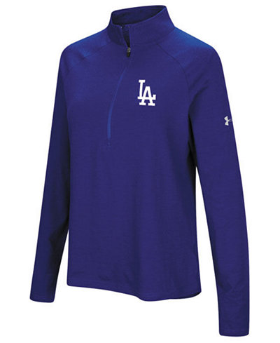 Under Armour Women's Los Angeles Dodgers Passion Half-Zip Pullover