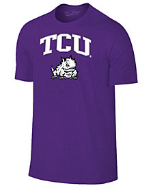 Retro Brand Men's TCU Horned Frogs Midsize T-Shirt