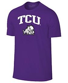 Retro Brand Men's TCU Horned Frogs Midsize T-Shirt