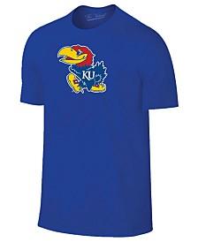 New Agenda Men's Kansas Jayhawks Big Logo T-Shirt