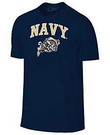 Retro Brand Men's Navy Midshipmen Midsize T-Shirt