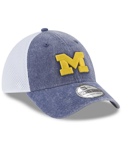lowest price 902e2 aa4c9 ... denmark new era michigan wolverines washed neo 39thirty cap sports fan  7113d 9cc02