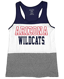 Blue 84 Women's Arizona Wildcats Racerback Panel Tank Top